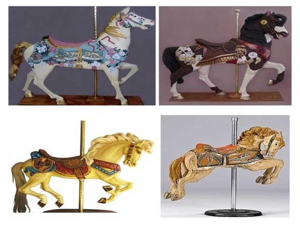 Beston carousel horses for sale