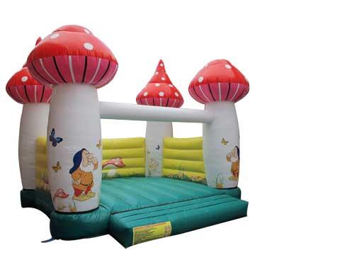 Mushroom bounce house