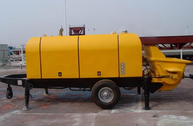 concrete trailer pumps sale