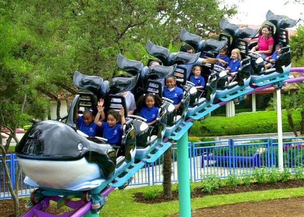 A family roller coaster