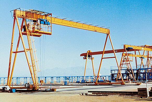 single girder gantry crane 1