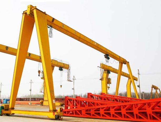 single girder gantry crane 2