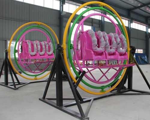 6 seat human gyro