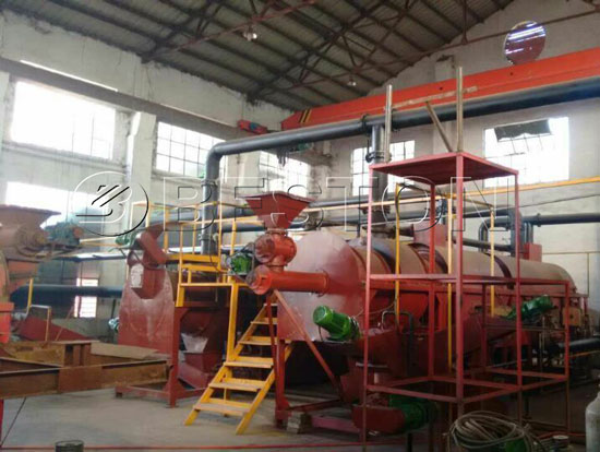 Palm Kernel Shell Carbonization Machine