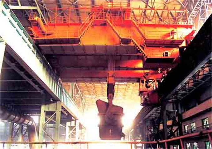Sale of overhead metallurgical crane in China