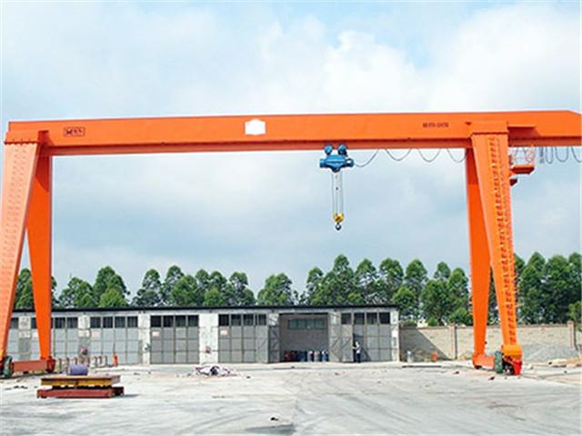 Single girder 16 ton gantry crane